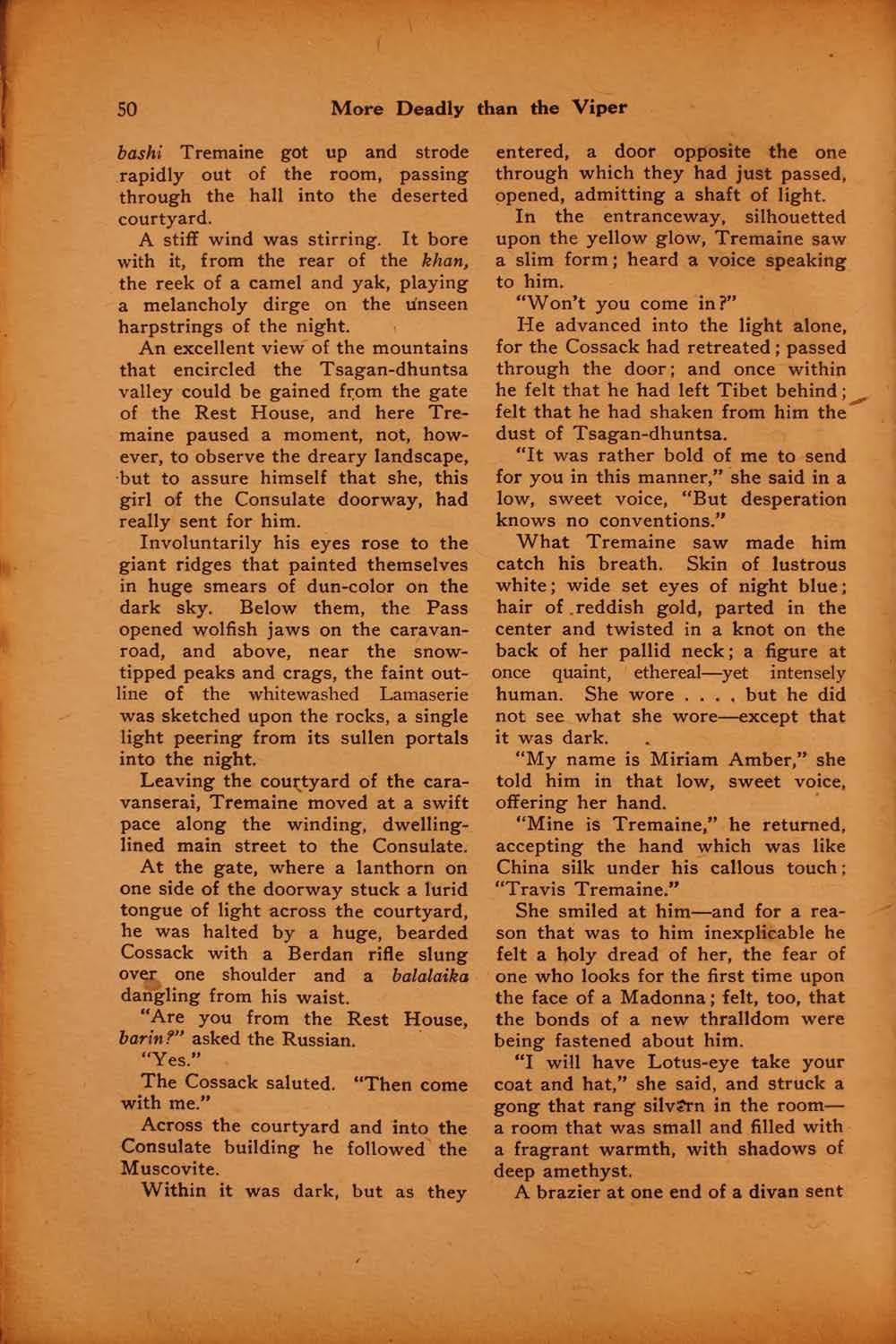The black mask vol 1 no 5 august 1920 ed by f m osbourne view facsimile 50 more deadly than the viper fandeluxe Images