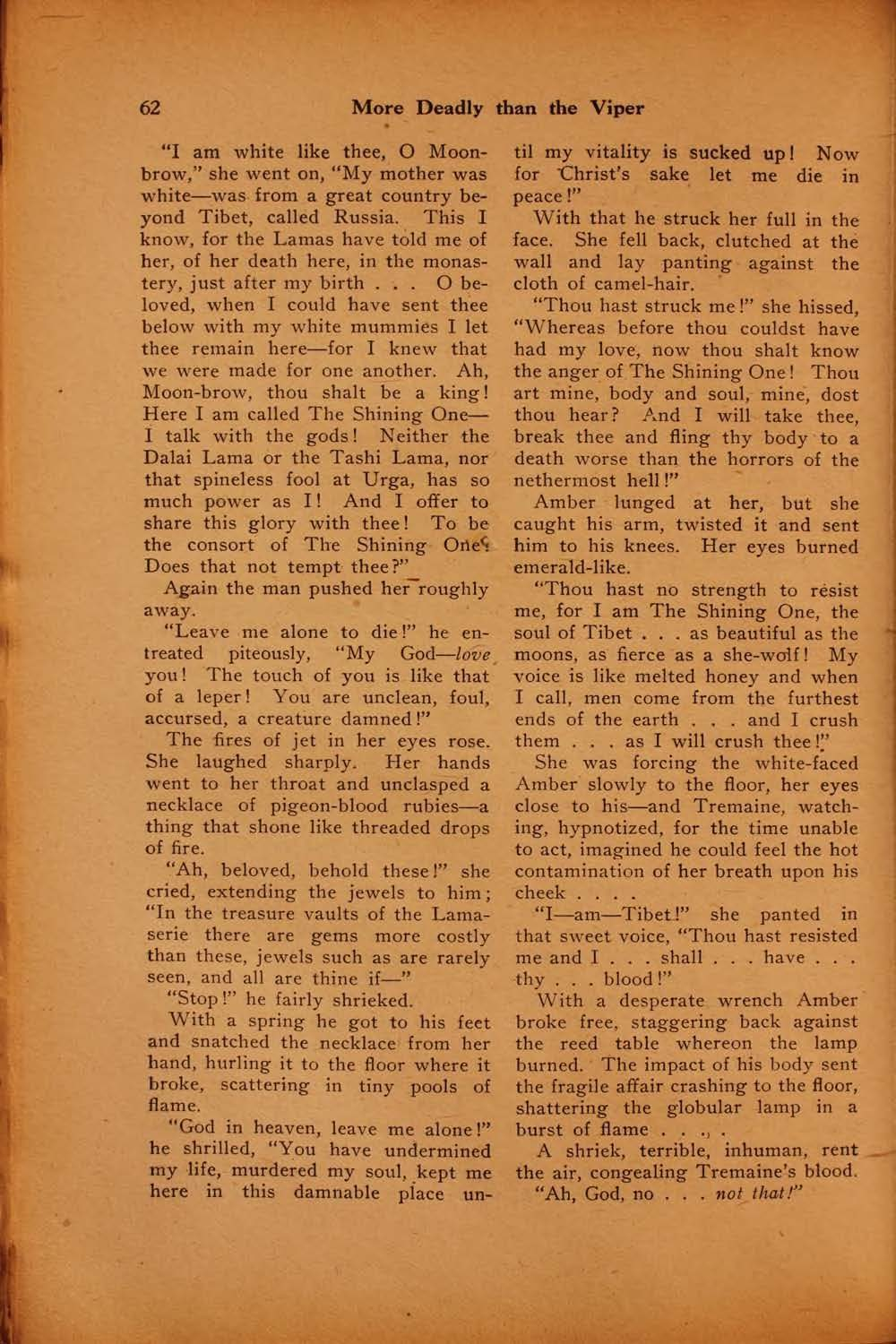 The black mask vol 1 no 5 august 1920 ed by f m osbourne view facsimile 62 more deadly than the viper fandeluxe Images