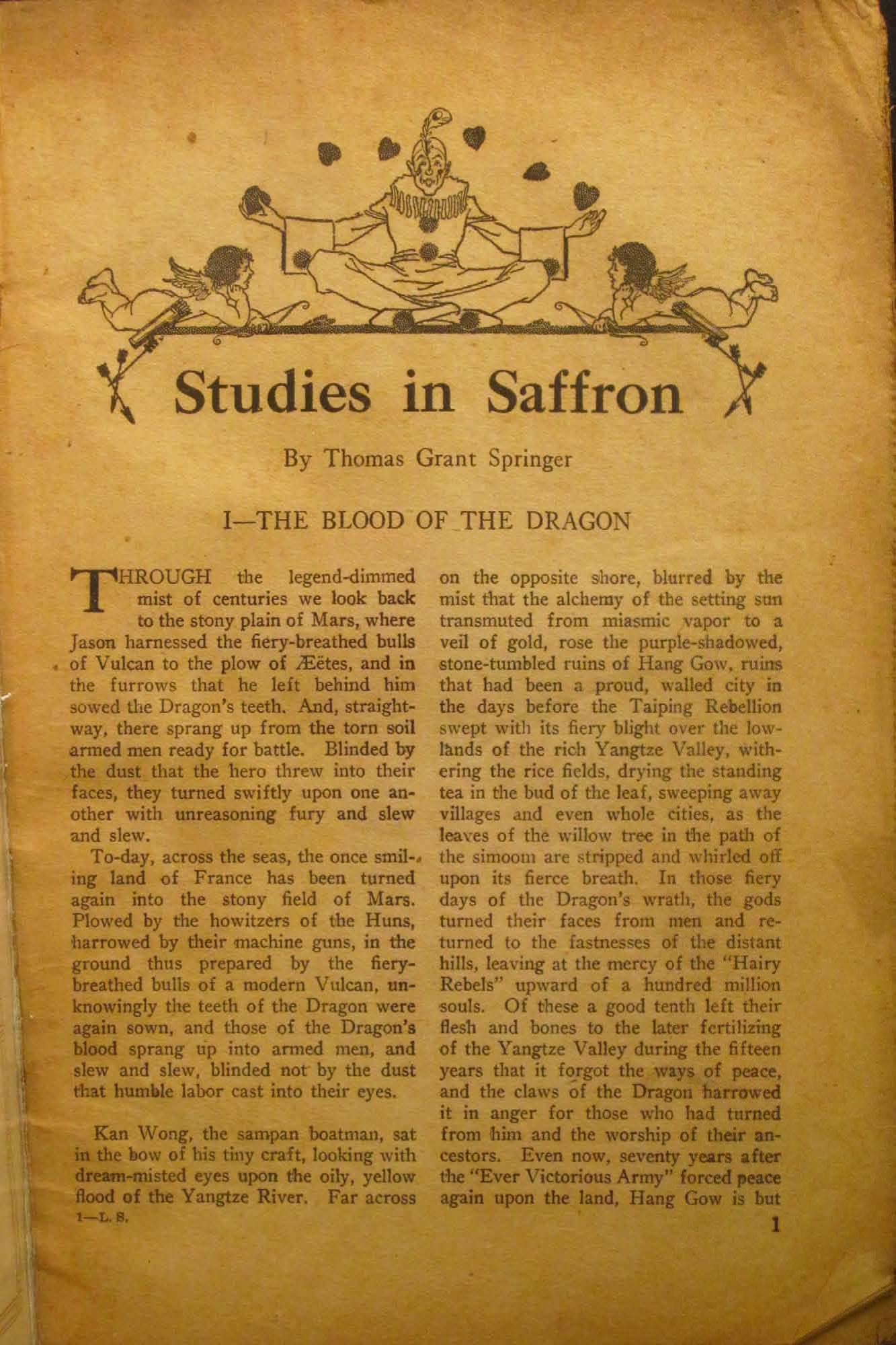 Live Stories Vol  XVIII, No  4 (May 1919), ed  by Grove E  Wilson
