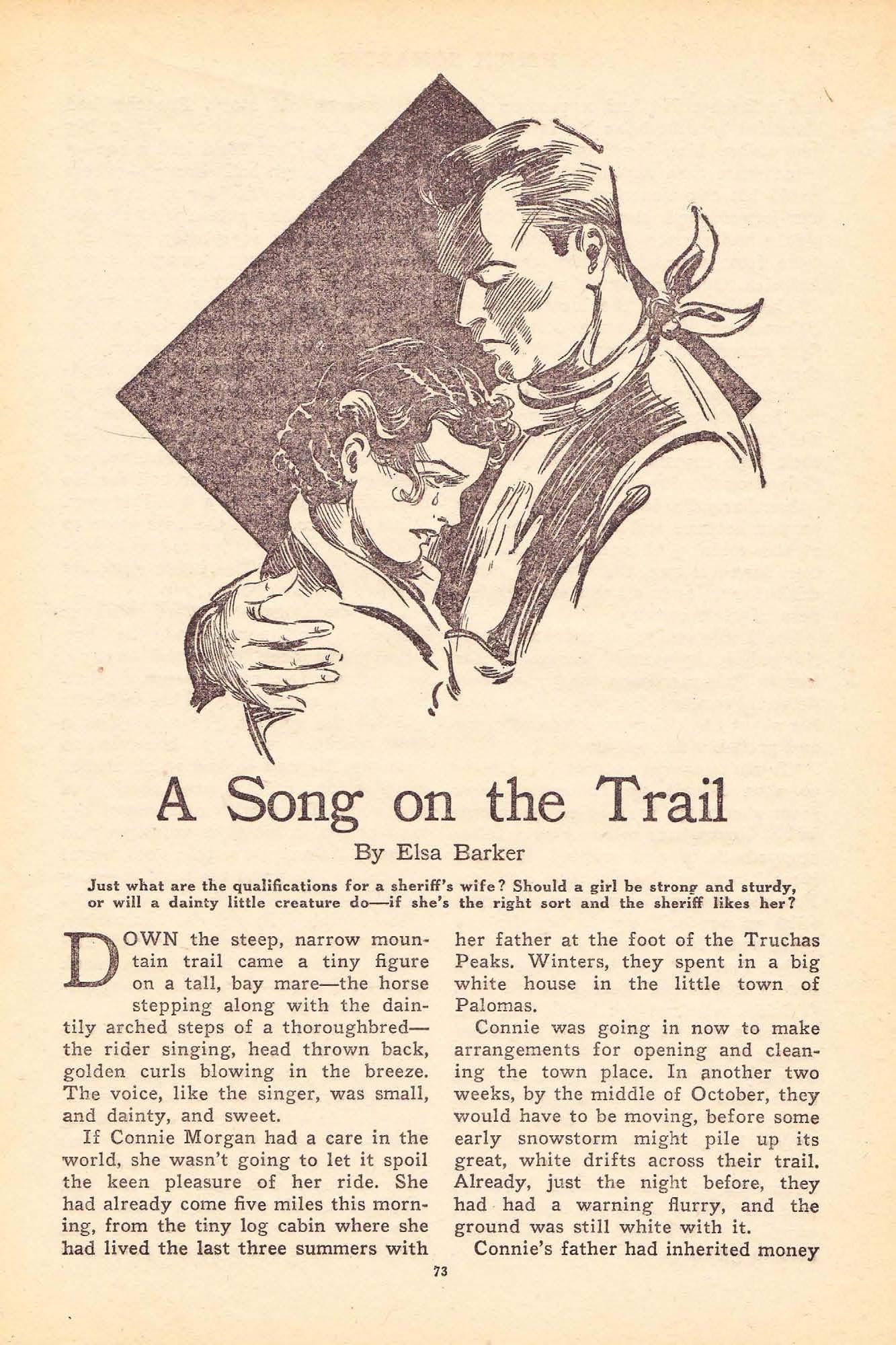 Ranch Romances Vol  L, No  1 (September 1, 1933), ed  by