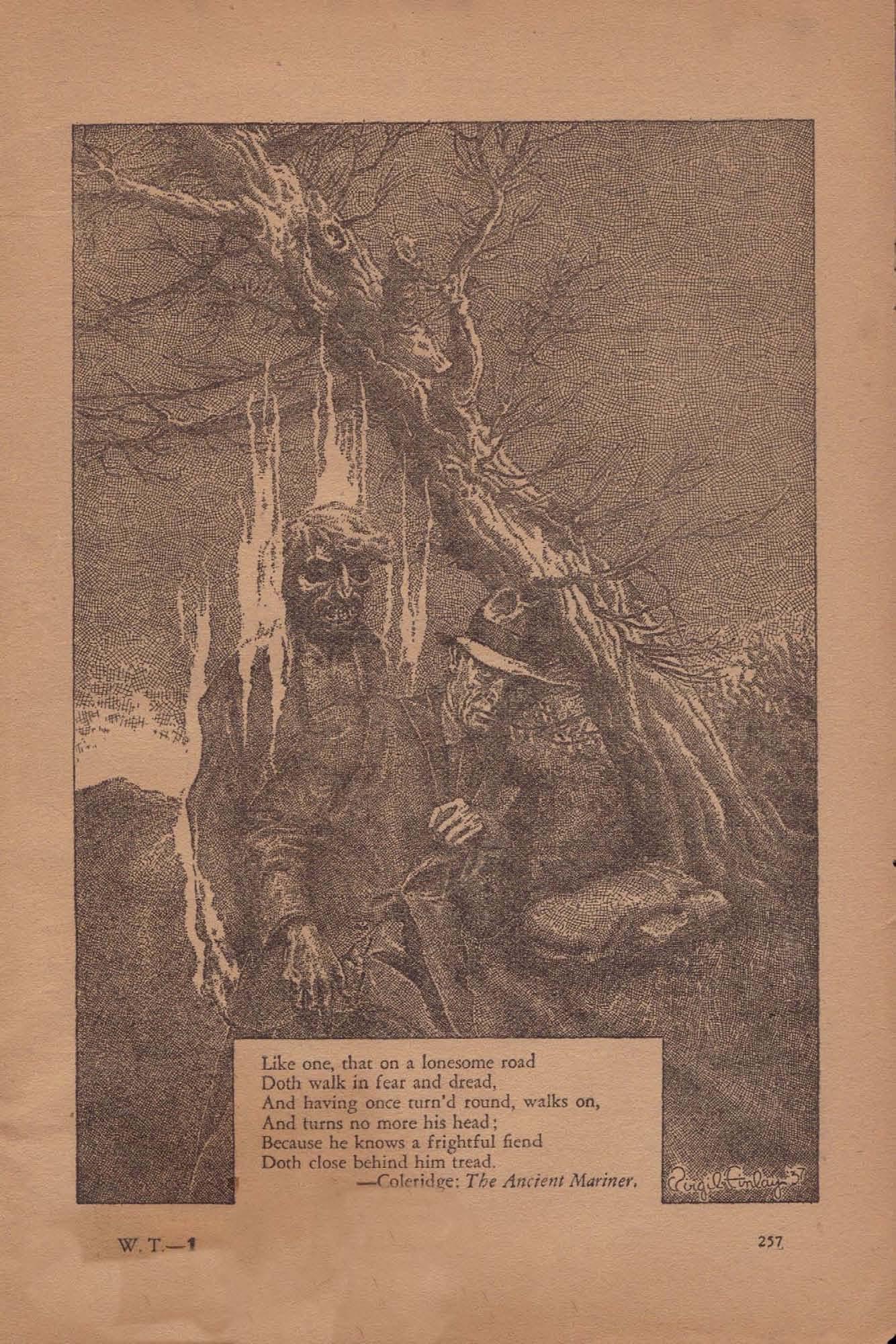 Weird Tales Vol. 31, No. 3 (March 1938), ed. by FARNSWORTH WRIGHT ...