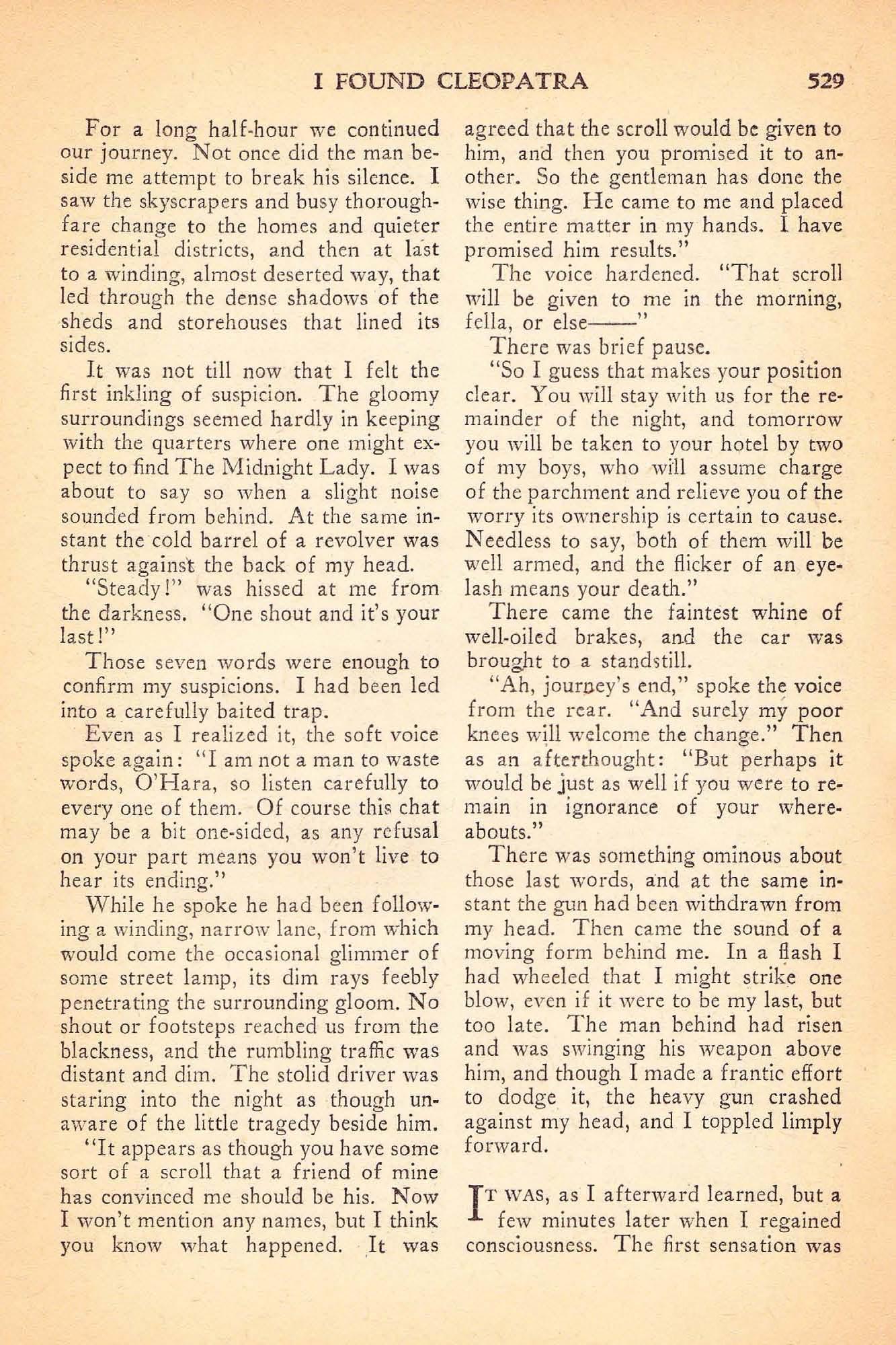 Weird Tales Vol. 32, No. 5 (November 1938), ed. by Farnsworth Wright ...