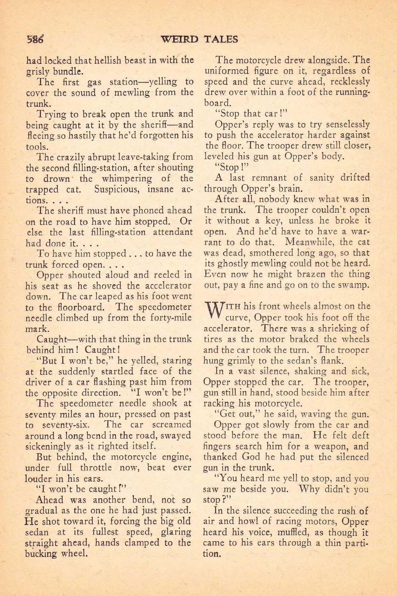 Weird Tales Vol 32 No 5 November 1938 Ed By Farnsworth Wright